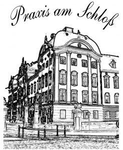 Praxis am Schloss Logo