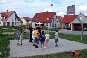 Kinderspielplatz in Ellingen (Rennfeld)