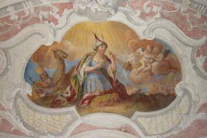 Mariahilfkapelle Deckengemälde