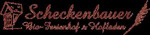 scheckenbauer logo 300x70 - Bio-Ferienhof Scheckenbauer