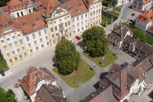 Luftansicht Residenz Ellingen