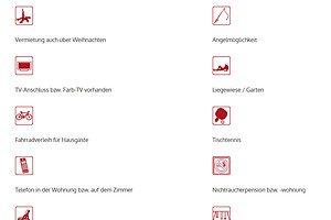 Symbole aus dem Gastgeberverzeichnis