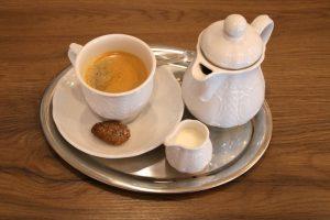 Cafe am Rathaus Kaffee Gedeck